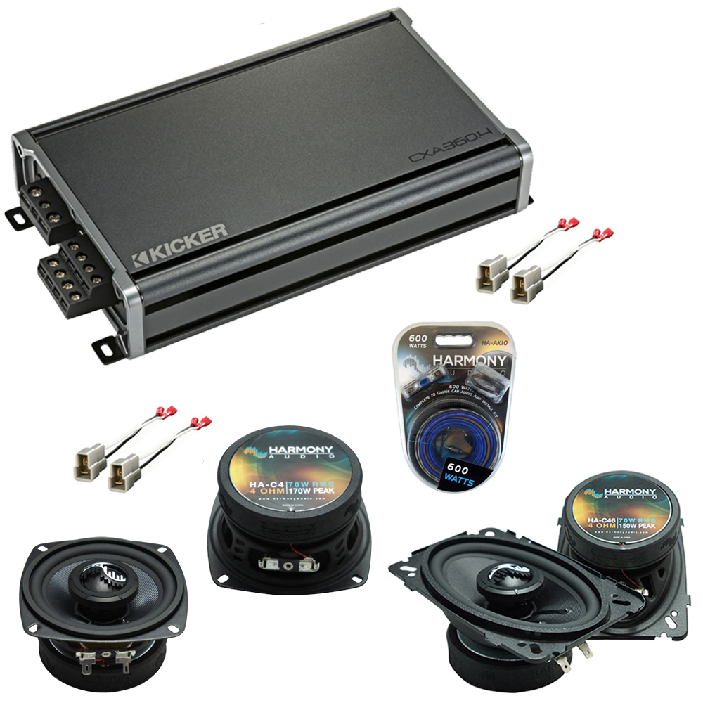 Compatible with GEO Metro 1992-1994 Factory Speakers Replacement Harmony C4 C46 & CXA300.4