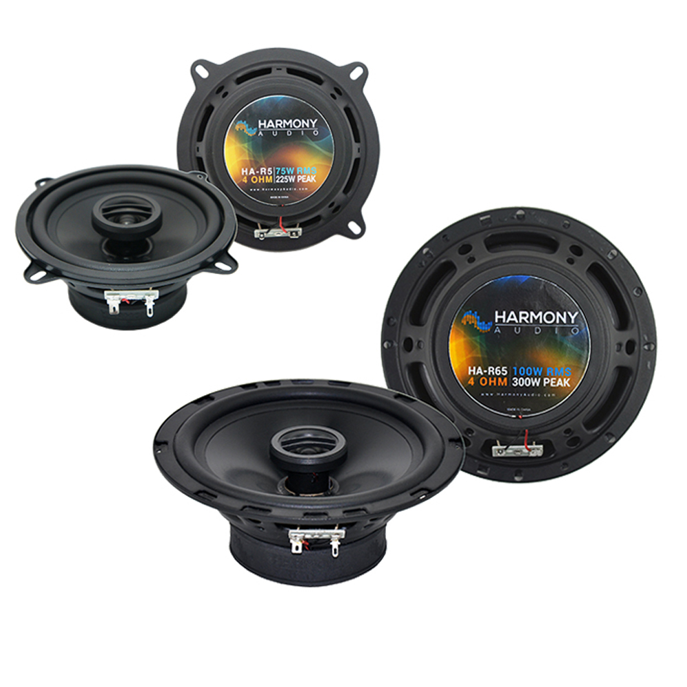 Audi S4 2002-2008 Factory Speaker Replacement Harmony R5 R65 Coax Package New