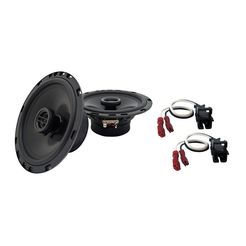 Fits GMC Safari Mini Van 1996-2005 Rear Cor. Replacement Harmony HA-R65 Speakers