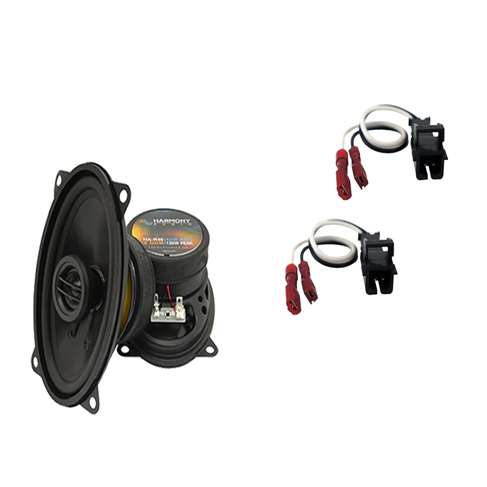 Fits GMC Sierra 3500 1999-2002 Front Pillar Replacement Harmony HA-R46 Speakers