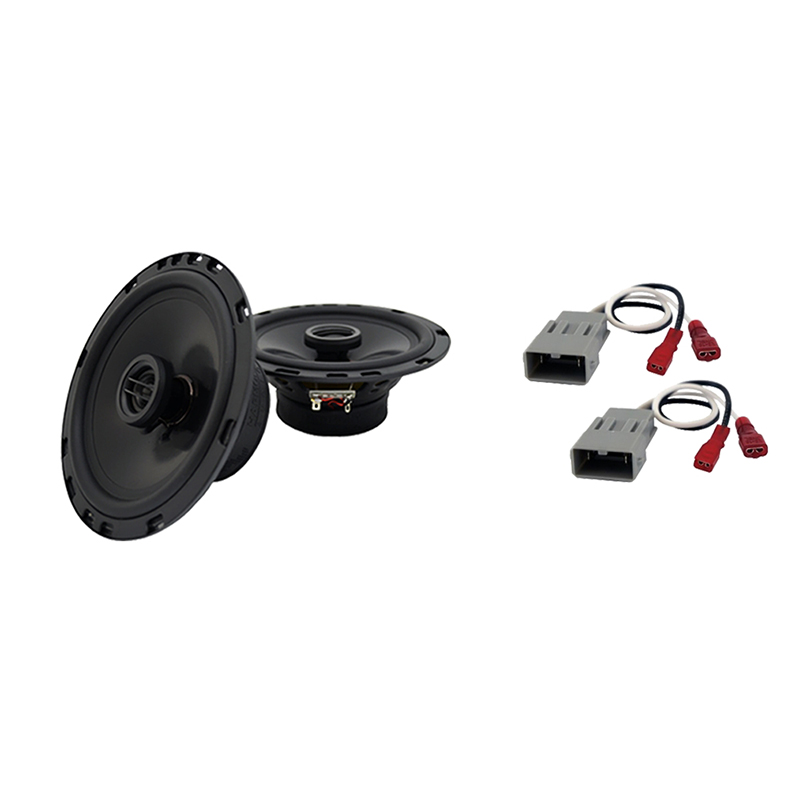 Harmony Audio Compatible With 1997-01 Honda CR-V HA-R65 New Rear Side Panel Factory Speaker Replacement Upgrade