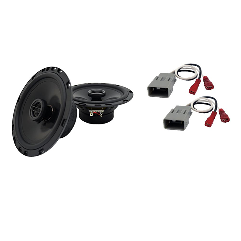 """Harmony Audio Compatible with 1995-1998 Honda Odyssey HA-R65 6.5"""" Front Door Replacement 300W Speakers And HA-727800 Speaker Replacement Harness"""