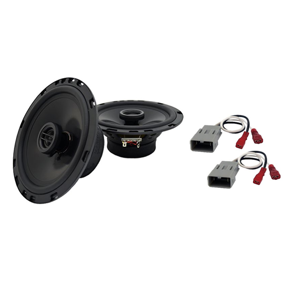"""Harmony Audio Bundle Compatible With 2005-2010 Honda Odyssey HA-R65 Car Stereo 6.5"""" Replacement, and HA-727800 Speaker Replacement Harness"""