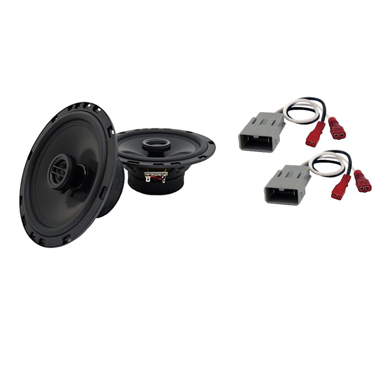 Harmony Audio Bundle Compatible with 2014-2015 Honda Odyssey LX HA-R65 Replacement 300W Speakers with HA-727800 Replacement Harness