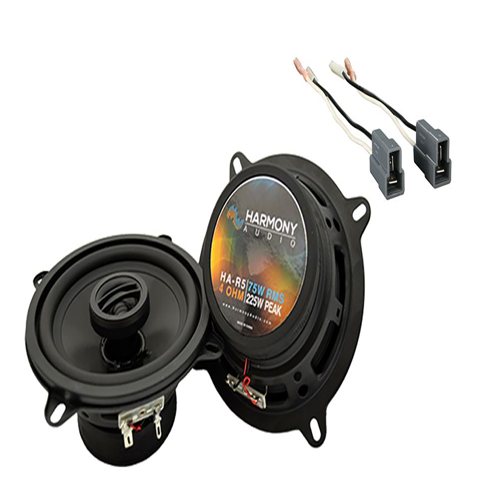 Fits Hyundai Accent 1995-1999 Rear Side Shelf Replacement Harmony HA-R5 Speakers