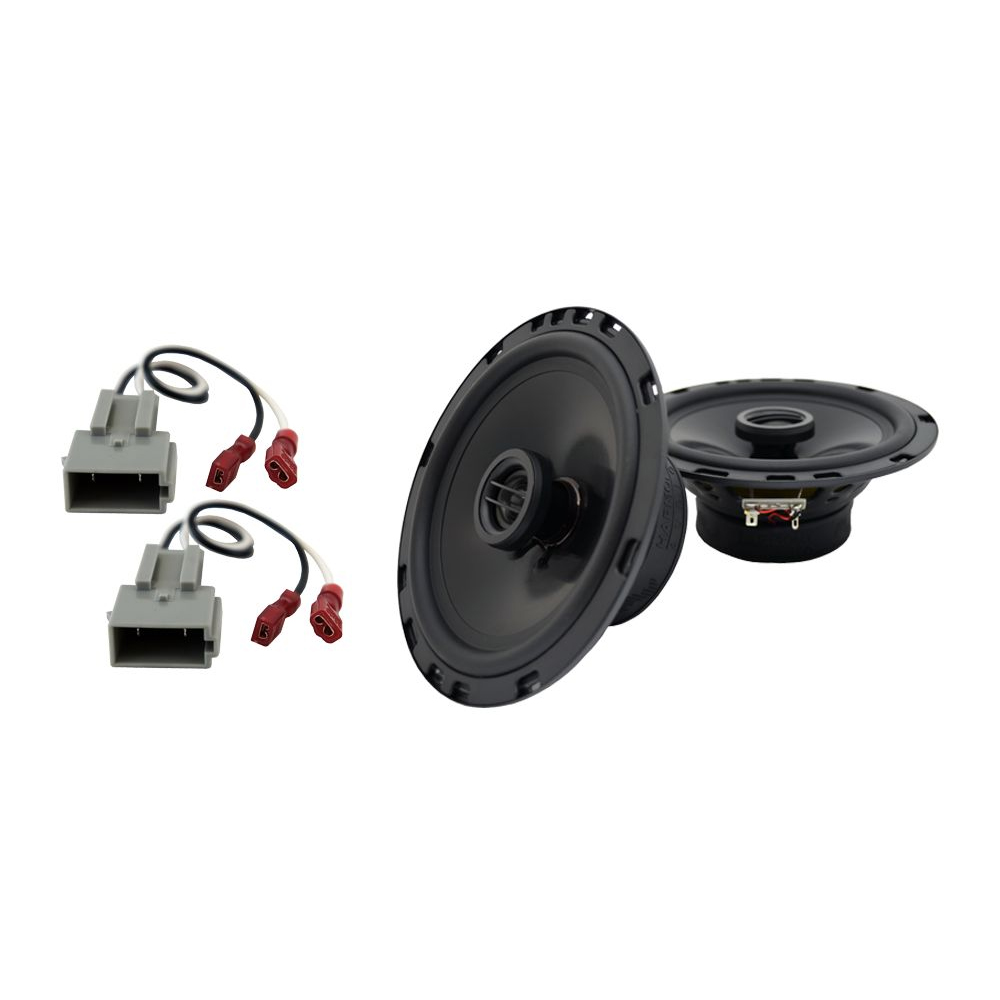 Fits Lincoln Continental 1990-1994 Front Door Replacement HA-R65 Speakers New
