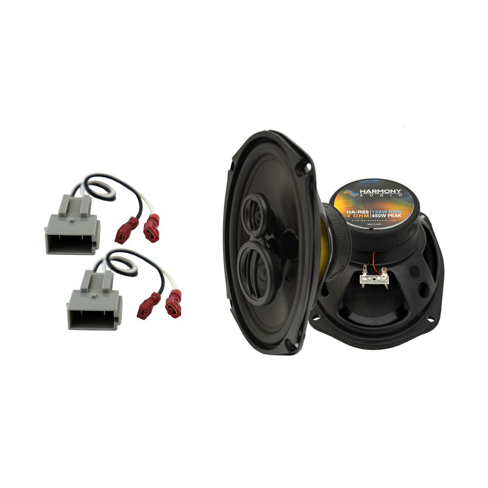 Fits Lincoln Continental 1990-1994 Rear Deck Replacement Harmony HA-R69 Speakers