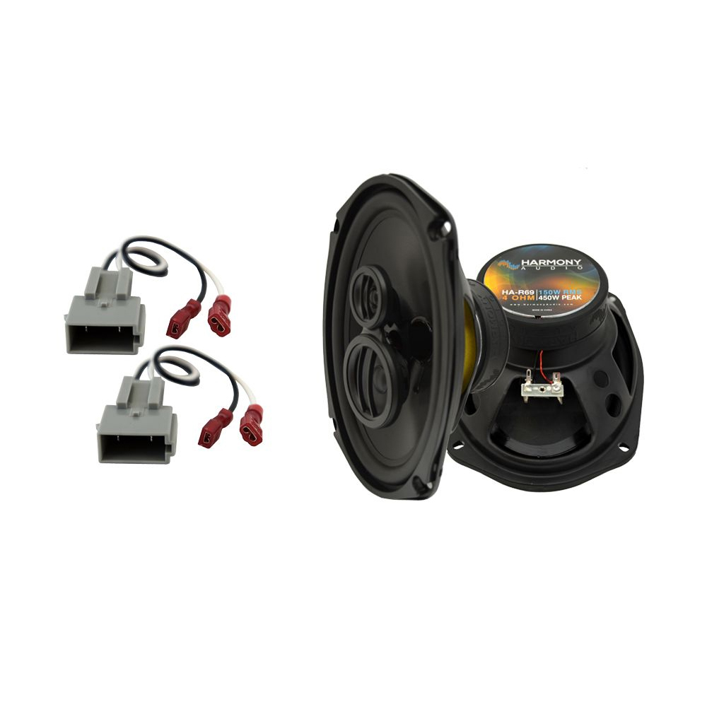 Fits Lincoln Mark VII 1989-1992 Rear Deck Replacement Harmony HA-R69 Speakers