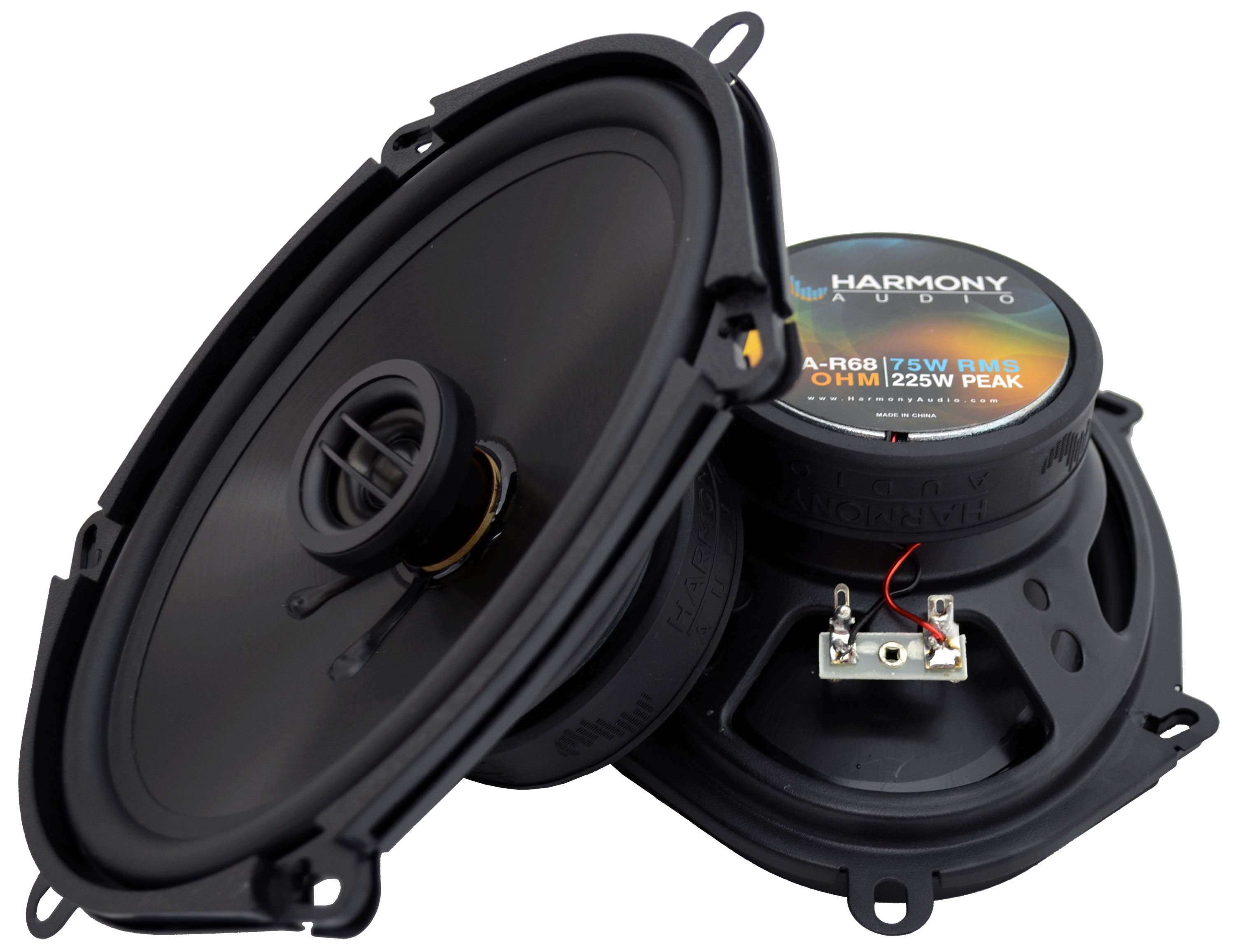 Fits Mazda MX-5 Miata 1998-2014 Front Door Replacement Harmony HA-R68 Speakers