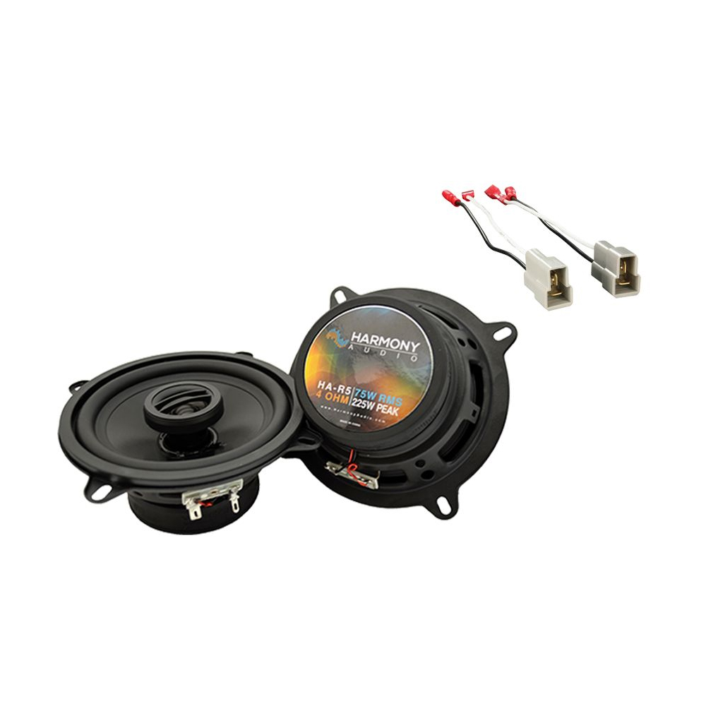 Fits Mazda RX-7 1986-1989 Rear Deck Replacement Speaker Harmony HA-R5 Speakers