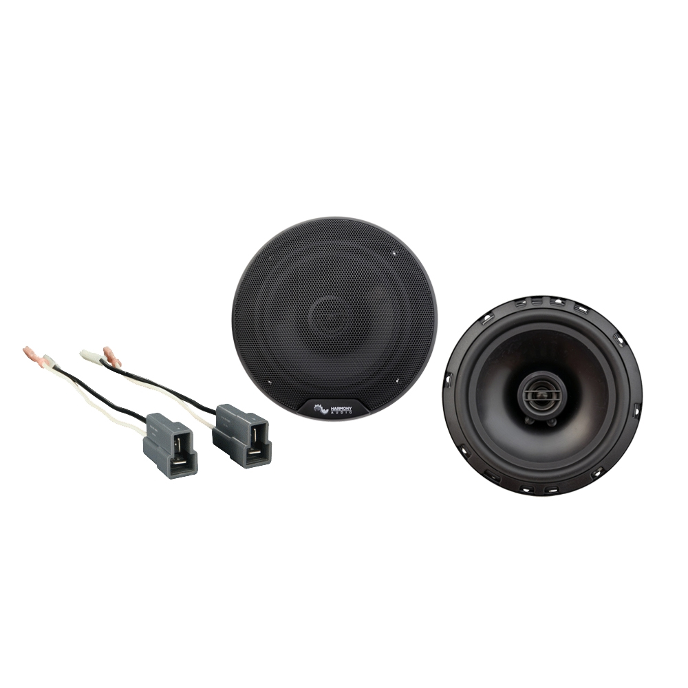 Fits Mitsubishi Galant 1994-2003 Front Door Replacement Harmony HA-R65 Speakers