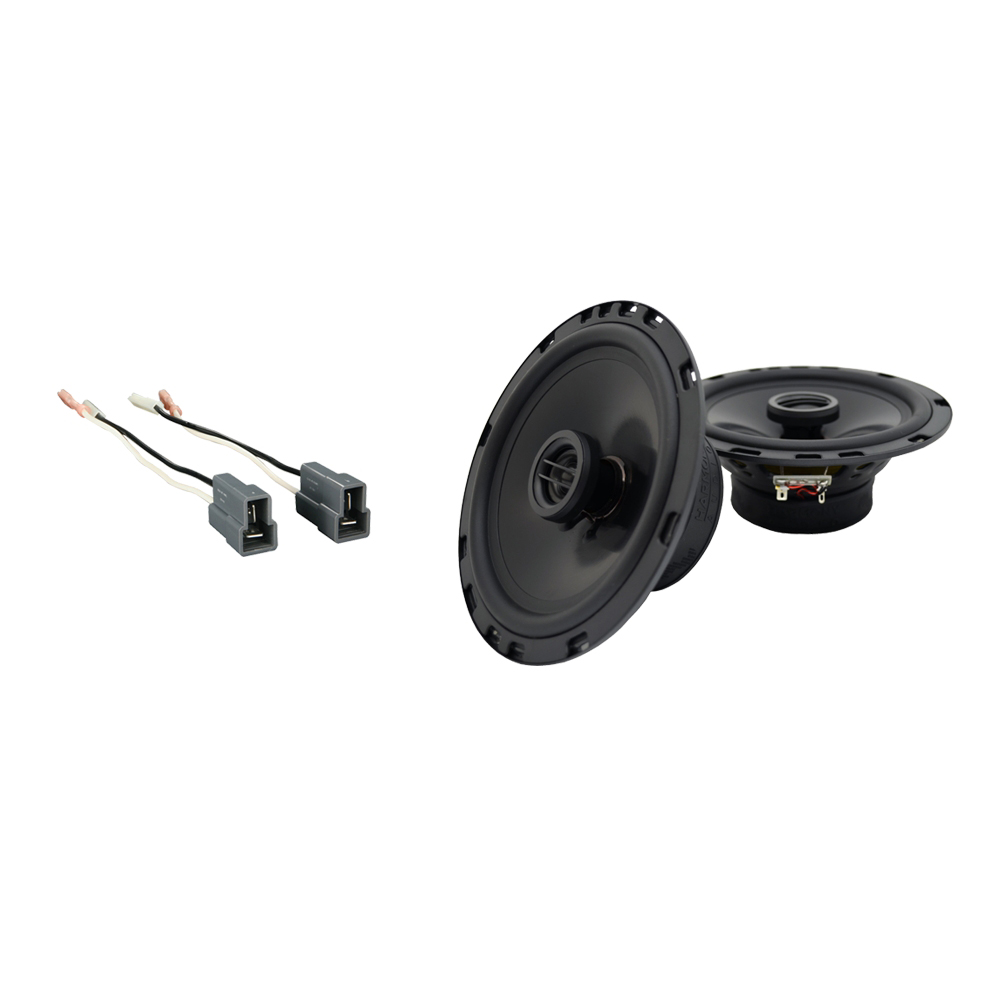 Fits Mitsubishi Mirage 1993-1996 Rear Deck Replacement Harmony HA-R65 Speakers