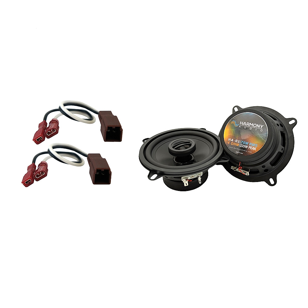 Fits Nissan Frontier 1998-2004 Rear Wall Replacement Harmony HA-R5 Speakers New