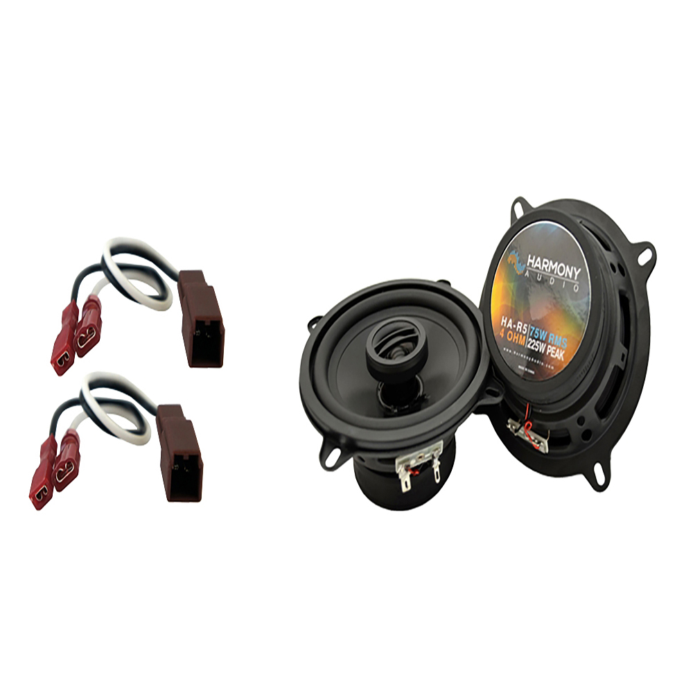 Fits Nissan Sentra 1982-1986 Rear Deck Replacement Harmony HA-R5 Speakers New
