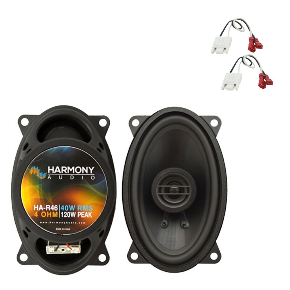 Fits Buick Le Sabre 1984-4987 Front Dash Replacement Harmony HA-R46 Speakers New
