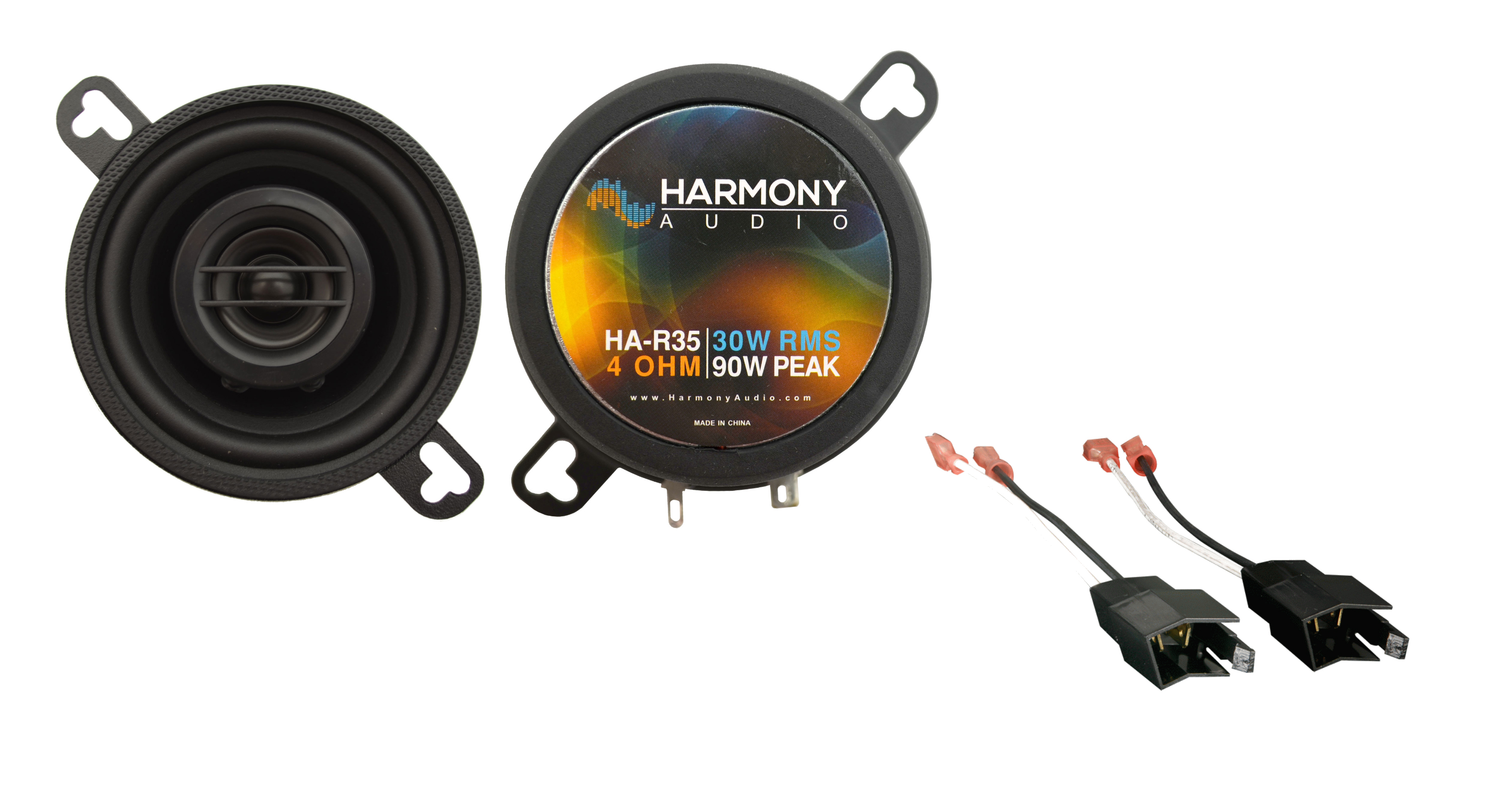 Fits Plymouth Reliant 1981-1989 Front Dash Replacement Harmony HA-R35 Speakers