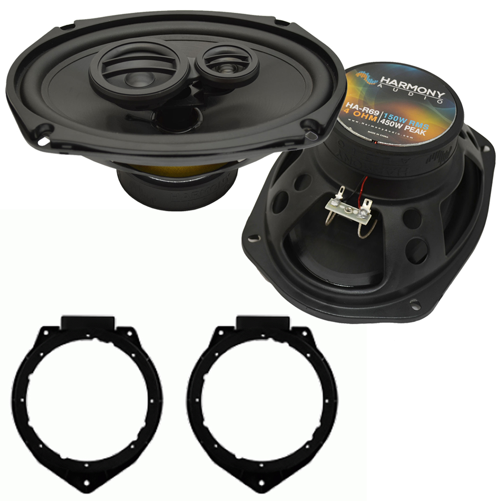 Fits Buick Lucerne 2006-2011 Rear Deck Replacement Harmony HA-R69 Speakers New