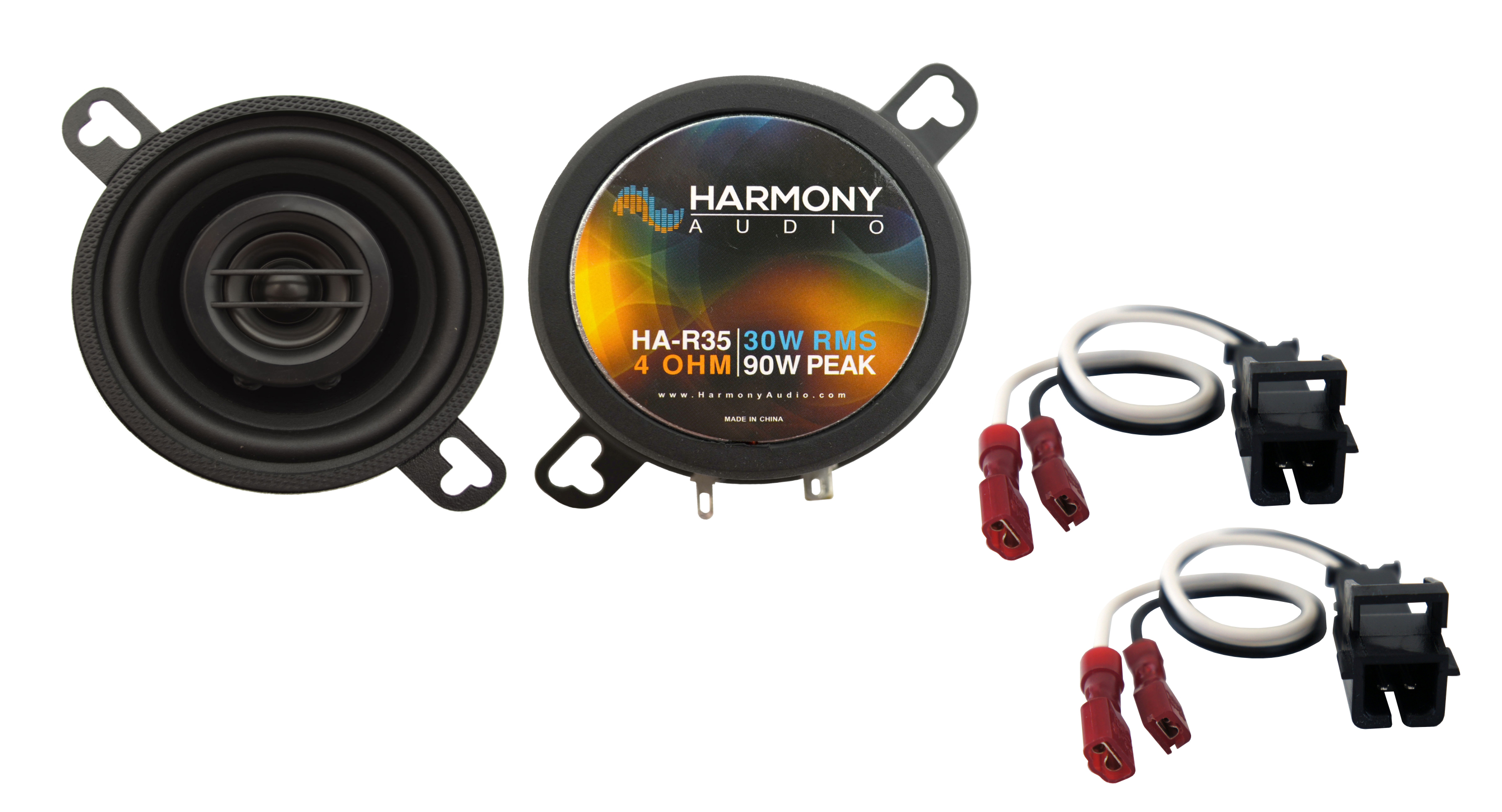 Fits Buick Rainier 2004-2007 Rear Dash Replacement Harmony HA-R35 Speakers New