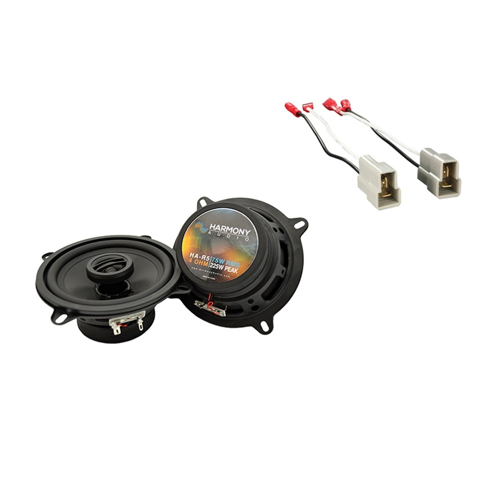 Fits Subaru GL 1985-1989 Rear Deck Replacement Speaker Harmony HA-R65 Speakers