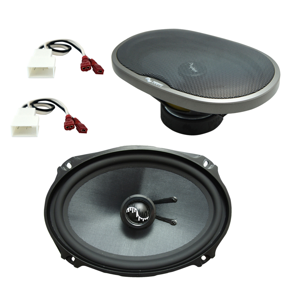 Fits Toyota Camry Solara 1999-2003 Rear Deck Replacement Harmony HA-C69 Premium Speakers