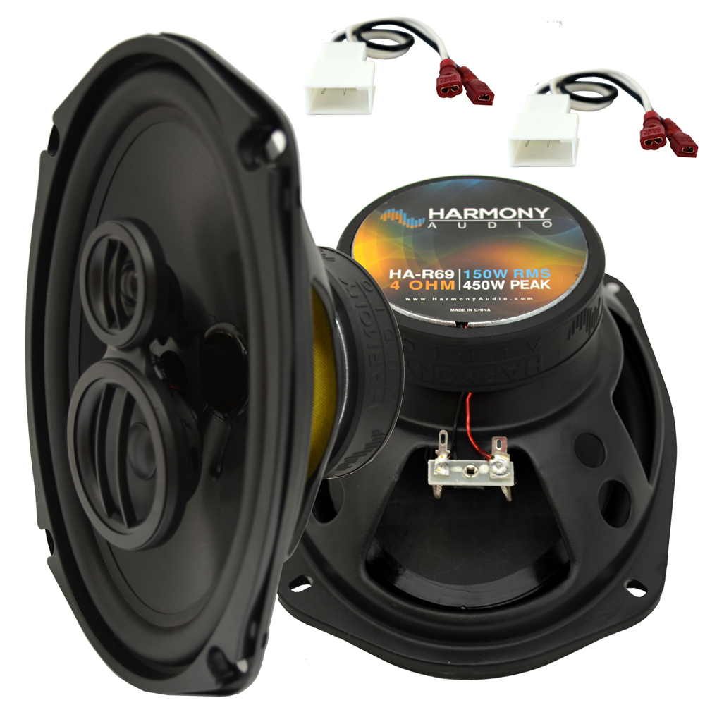 Fits Toyota Camry Solara 1999-2003 Rear Deck Replacement Harmony HA-R69 Speakers