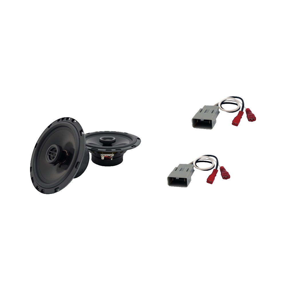 Harmony Audio Compatible With 1999-13 Acura RL HA-R65 Front Door Factory Replacement Speakers