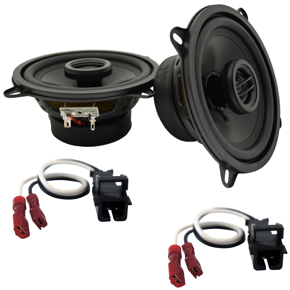 Fits Cadillac Coupe DeVille 1990-1993 Front Door Replacement HA-R5 Speakers New