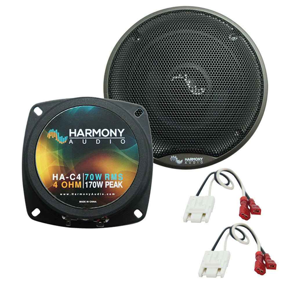 Fits Cadillac Eldorado 1983-1991 Front Door Replacement Harmony HA-C4 Premium Speakers