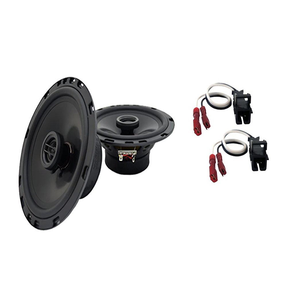Harmony Audio Compatible With 1993-02 Chevy Camaro HA-R65 New Rear Side Panel Replacement Speaker Pair