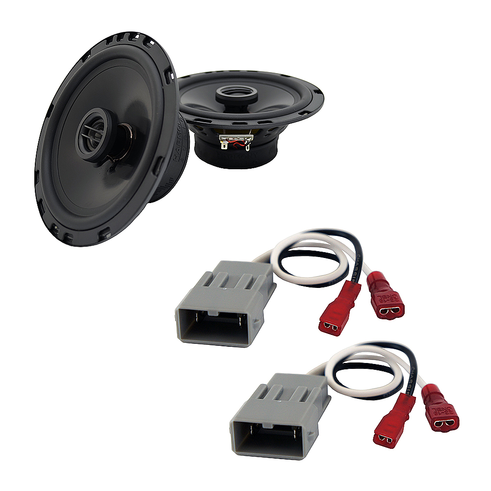 Harmony Audio Compatible With 1996-03 Acura TL HA-R65 Rear Door Factory Replacement Speakers