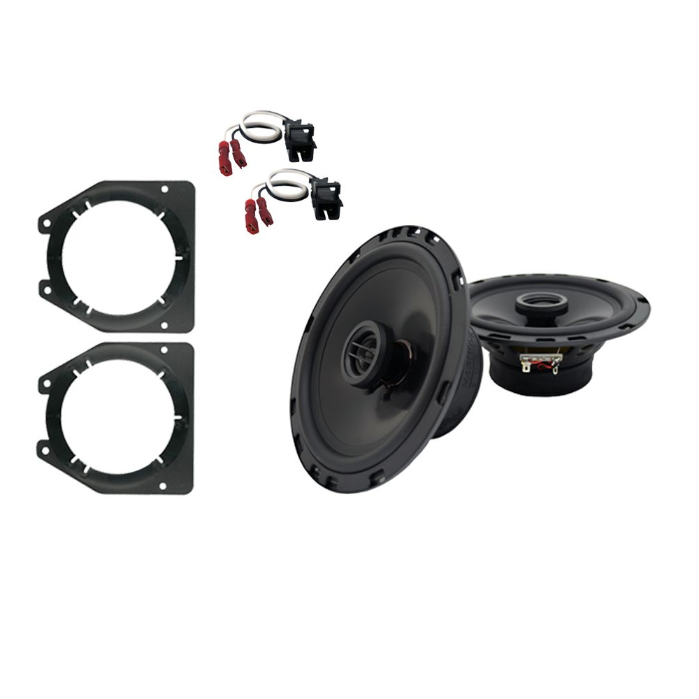 Fits Chevy Express 1996-2007 Front Door Replacement Harmony HA-R65 Speakers