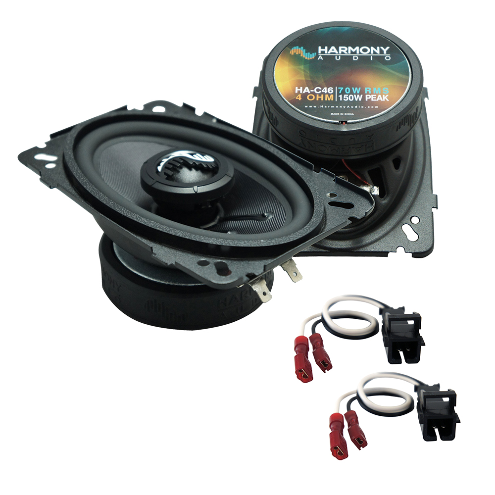 Fits Chevy Malibu 1997-2003 Front Door Replacement Harmony HA-C46 Premium Speakers