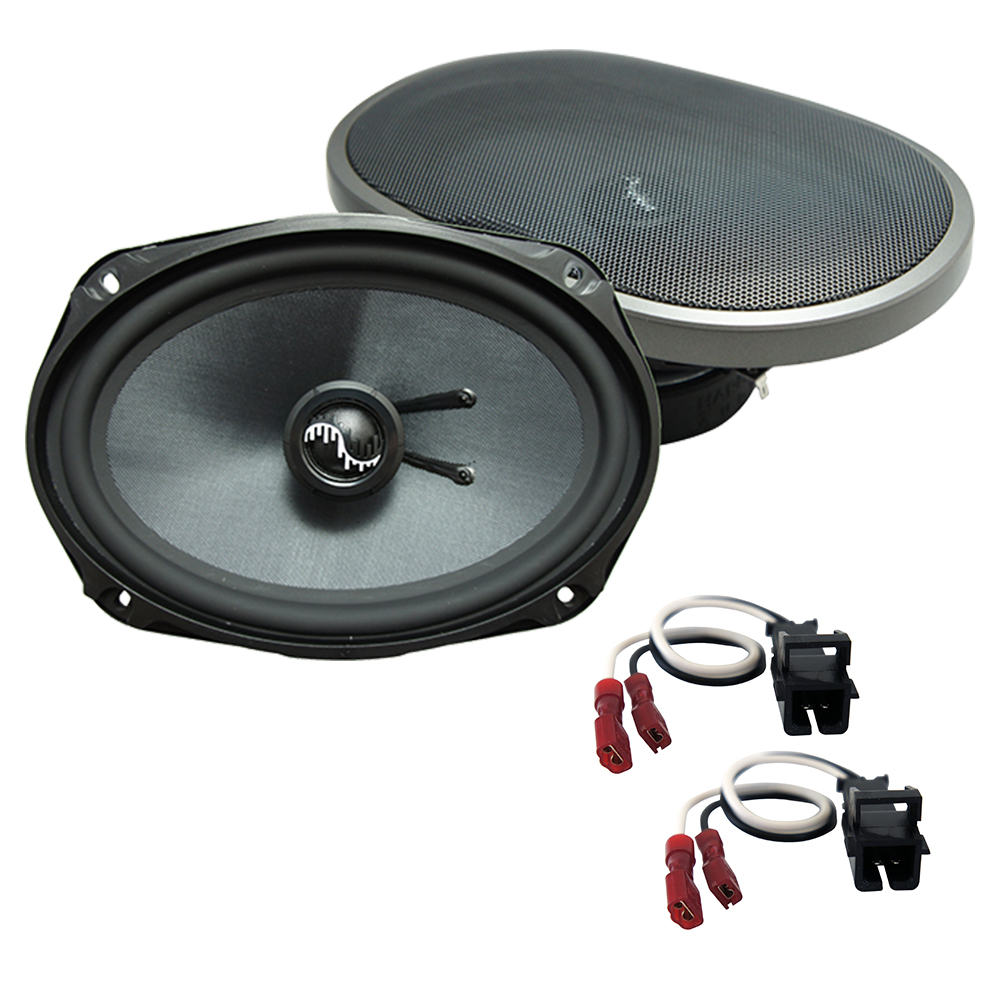 Fits Chevy Malibu Classic 2008 Rear Deck Replacement Harmony HA-C69 Premium Speakers
