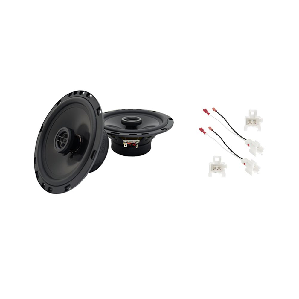 Fits Chevy Prizm 1998-2003 Rear Deck Replacement Harmony HA-R65 Speakers New