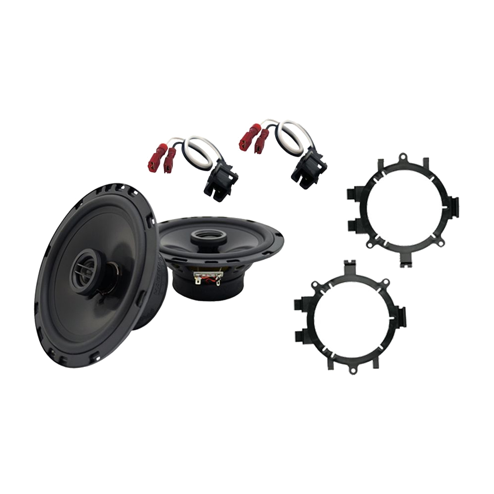 """Harmony Audio Compatible with 1995-06 Chevy Tahoe HA-R5 5.25"""" New Front Door Replacement 225W Speakers With HA-823002 5.25"""" 6.5"""" Speakers Adapter Kit And HA-724568 Speaker Replacement Harness"""