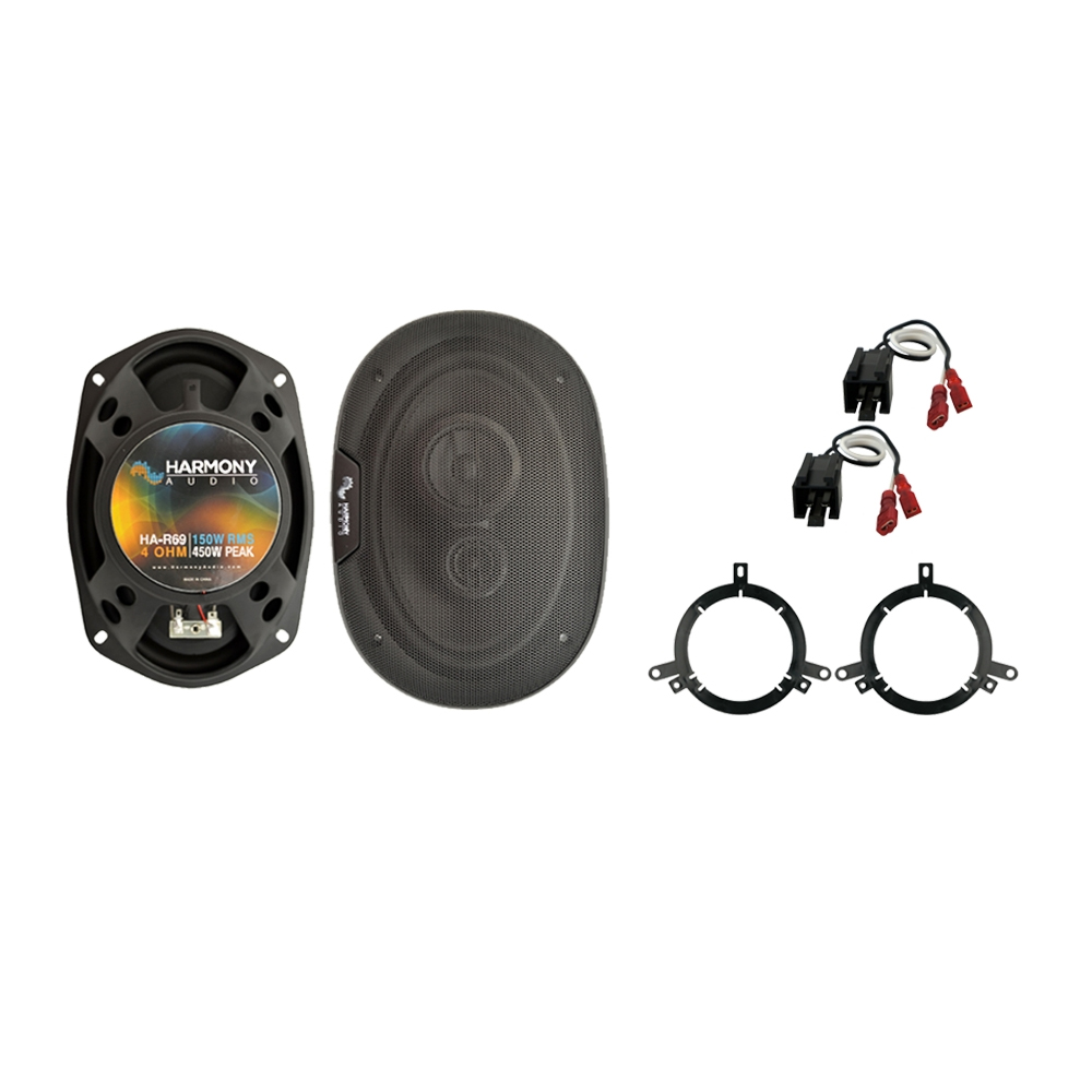 Fits Chrysler Cirrus 1995-2000 Rear Deck Replacement Harmony HA-R69 Speakers New