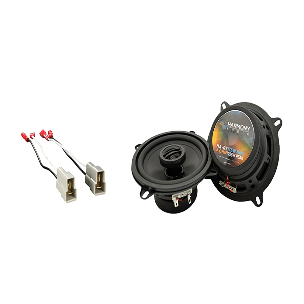 Fits Audi 4000 Series 1980-1987 Rear Deck Replacement Harmony HA-R5 Speakers New
