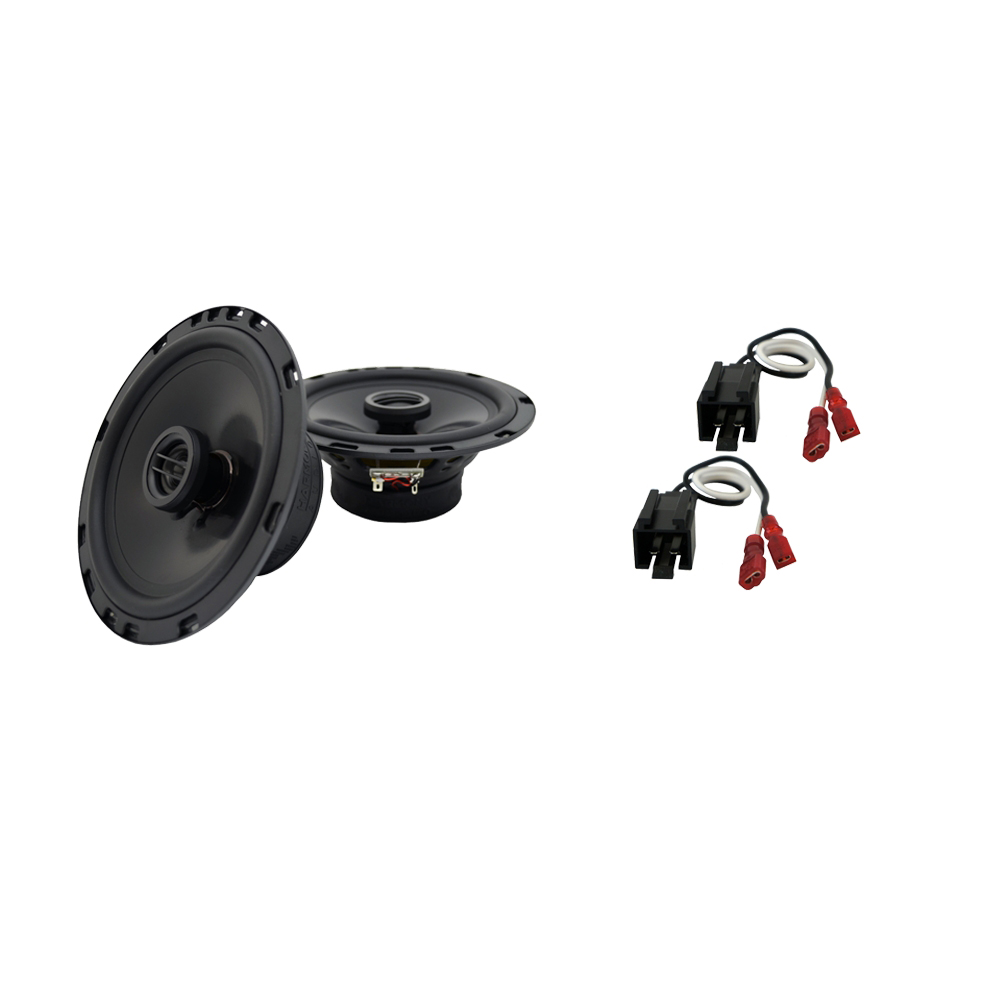 Fits Chrysler Sebring Coupe 2001 Front Door Replacement Harmony HA-R65 Speakers