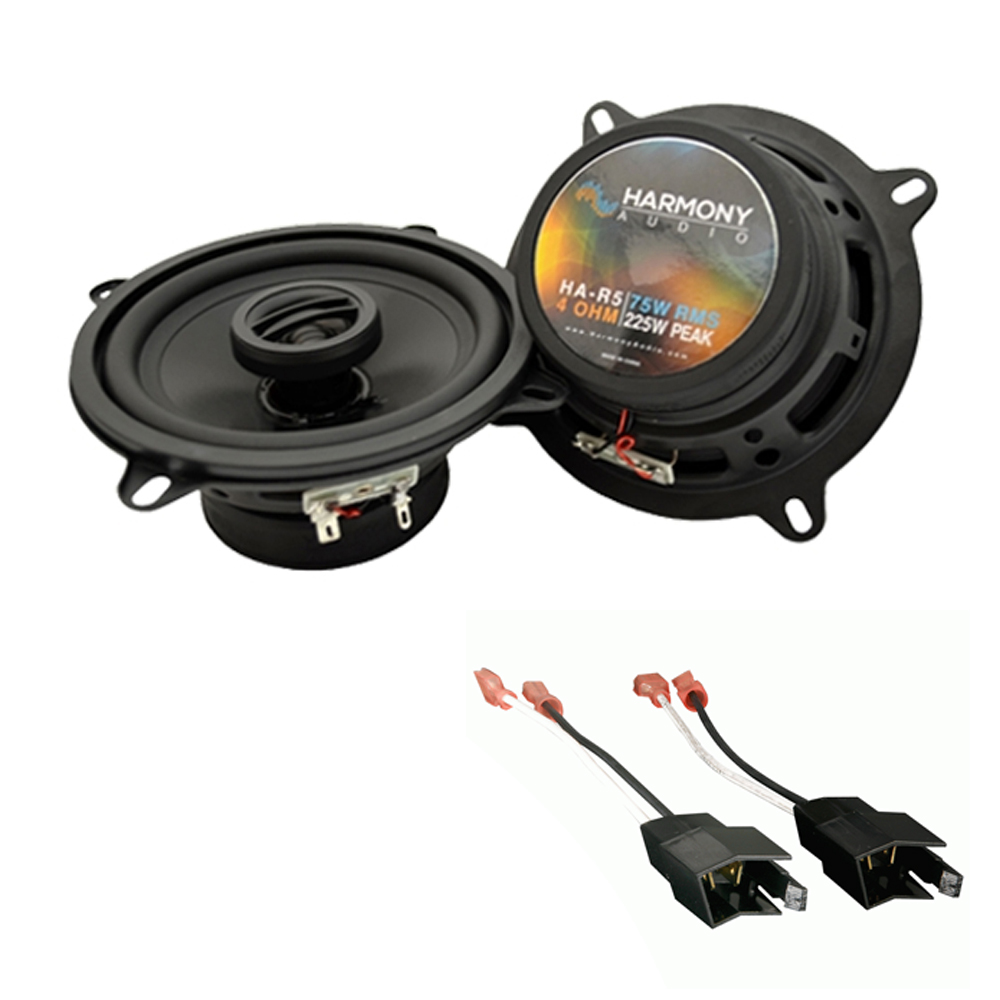 Fits Dodge Charger 1984-1987 Front Door Replacement Harmony HA-R5 Speakers New