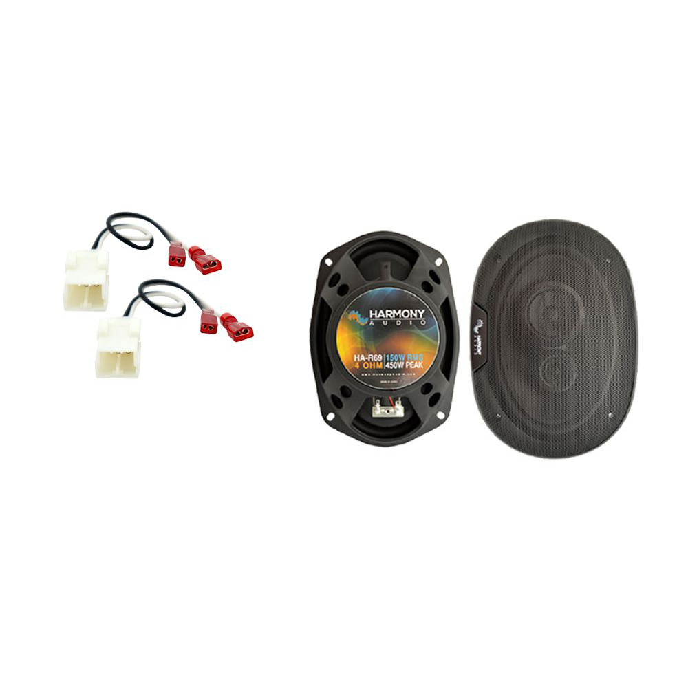 Fits Dodge Charger 2005-2010 Front Door Replacement Harmony HA-R69 Speakers New