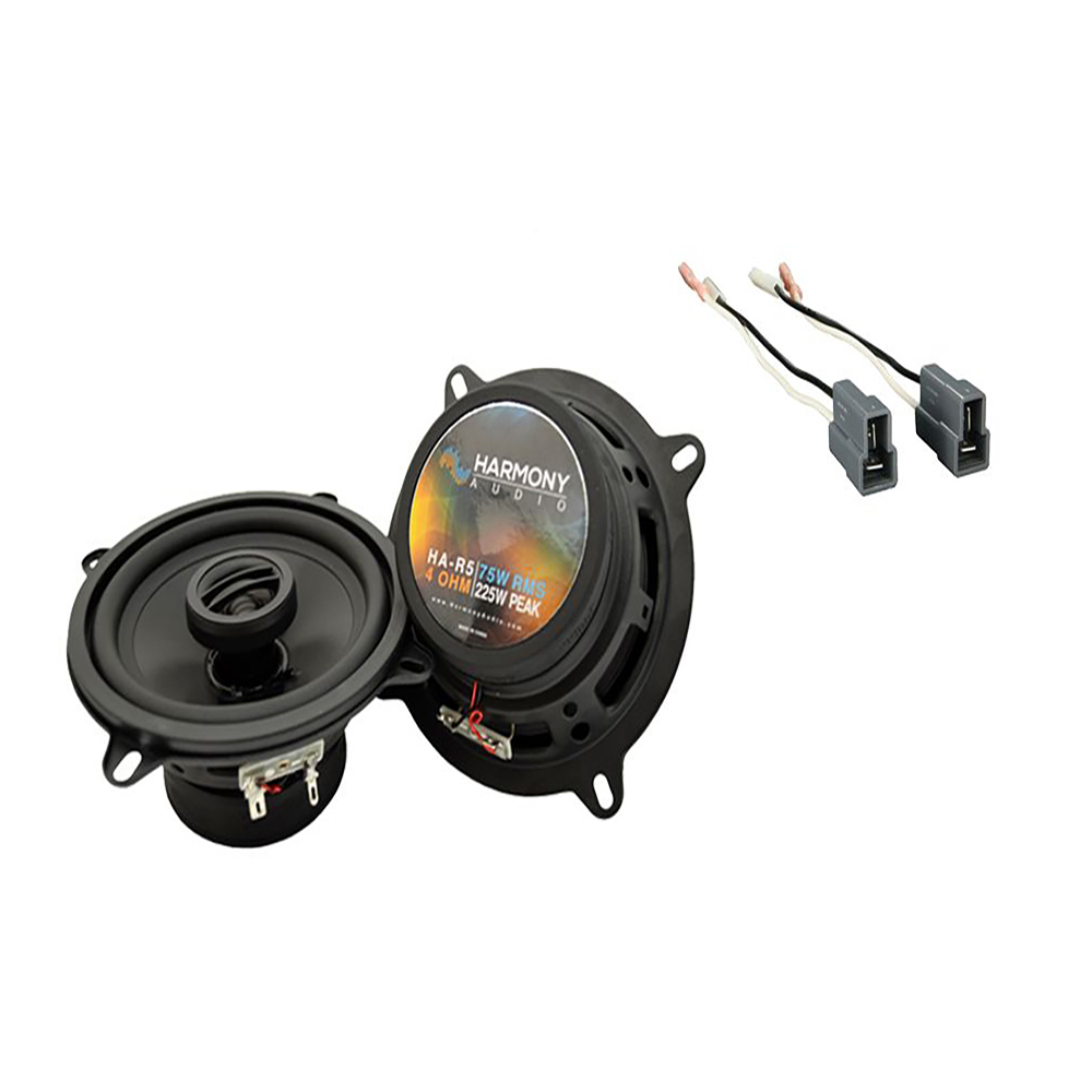 Fits Dodge Colt 1987-1992 Front Dash Replacement Speaker Harmony HA-R5 Speakers