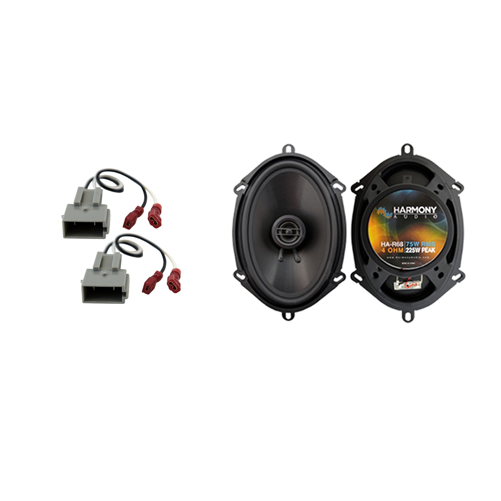 Fits Ford Escort 1997-2004 Rear Deck Replacement Speaker Harmony HA-R68 Speakers