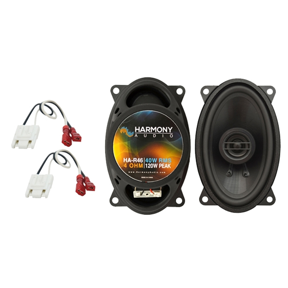 Harmony Audio Compatible With 2003 Ford Expedition Fleet HA-R68 New Front Door Speaker Replacement Upgrade