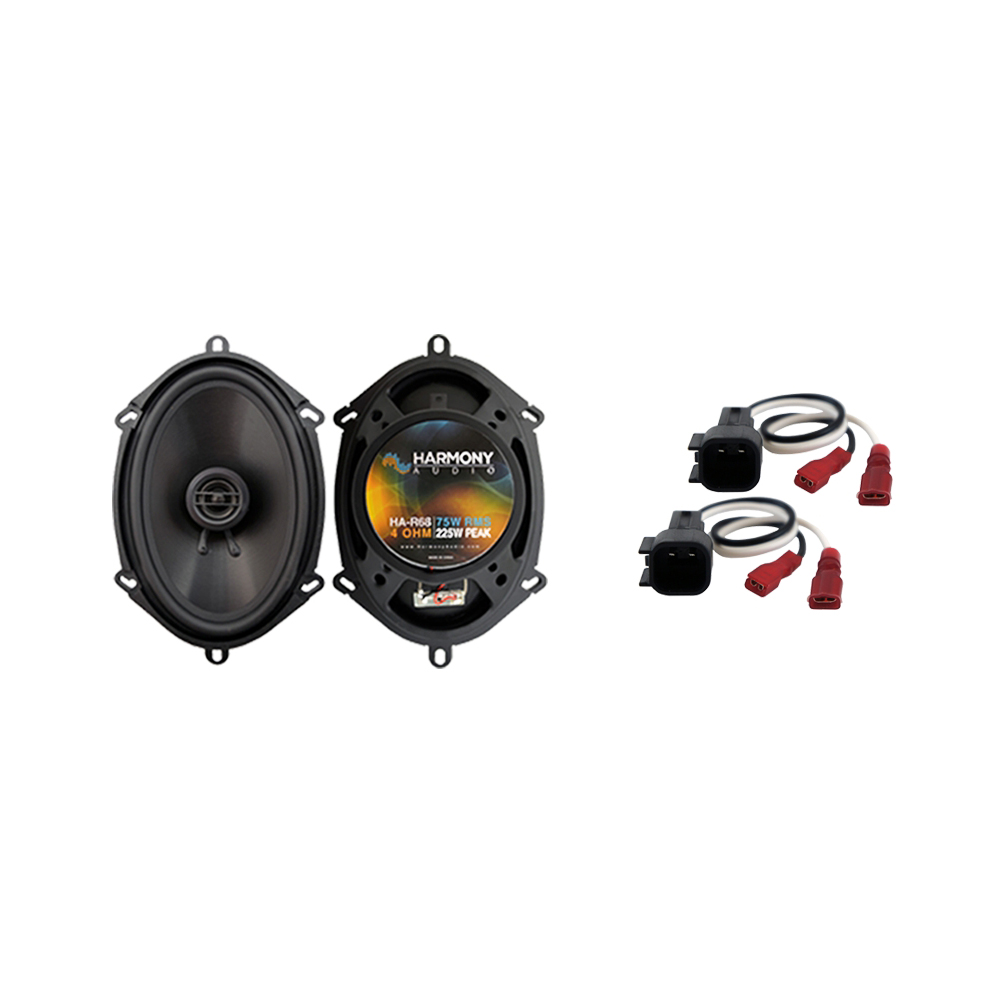 Fits Ford Expedition Fleet 2015 Rear Door Replacement Harmony HA-R68 Speakers
