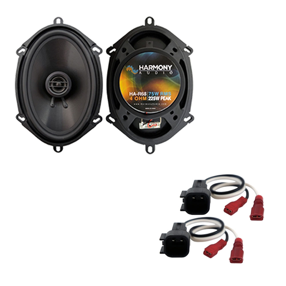 Fits Ford Expedition SSV 2015 Front Door Replacement Harmony HA-R68 Speakers New