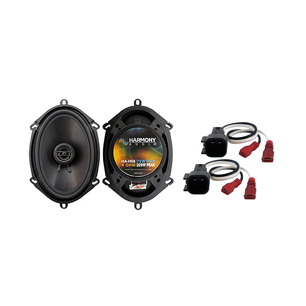 Fits Ford Explorer 2002-2005 Front Door Replacement Harmony HA-R68 Speakers New