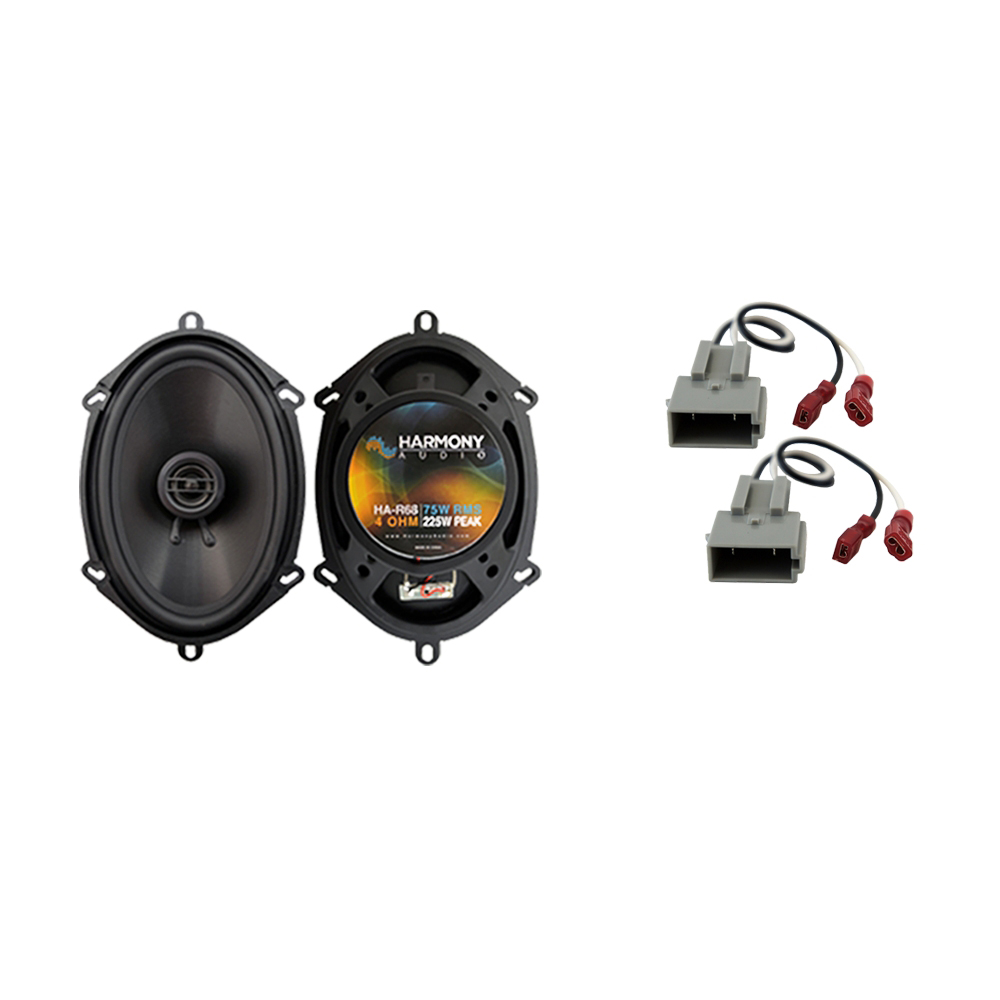 Fits Ford F-150 Heritage 2004 Front Door Replacement Harmony HA-R68 Speakers New
