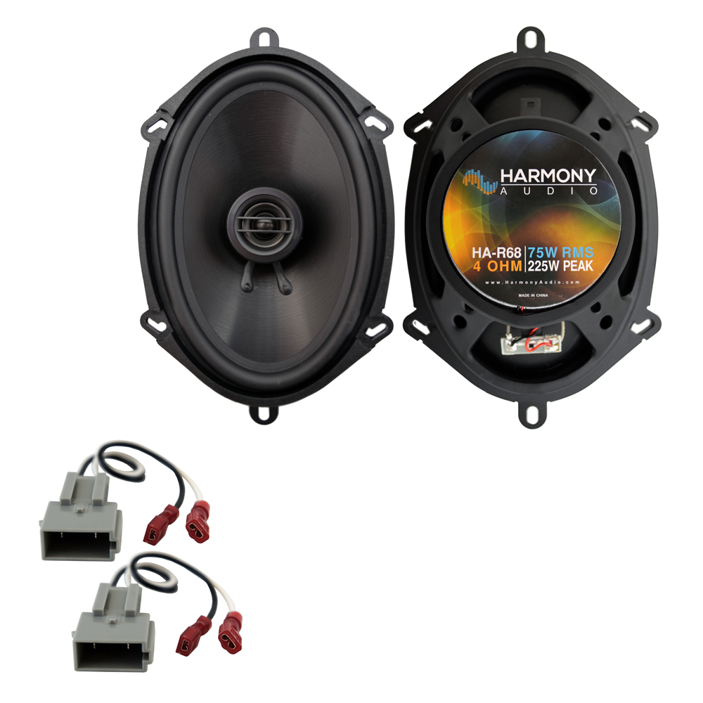 Fits Ford F-150 Heritage 2004 Rear Door Replacement Harmony HA-R68 Speakers New