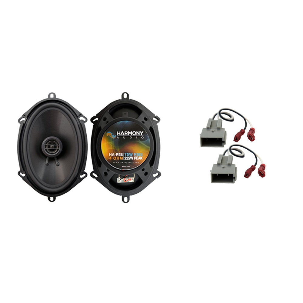Fits Ford F-350 1997-1998 Front Door Replacement Speaker Harmony HA-R68 Speakers