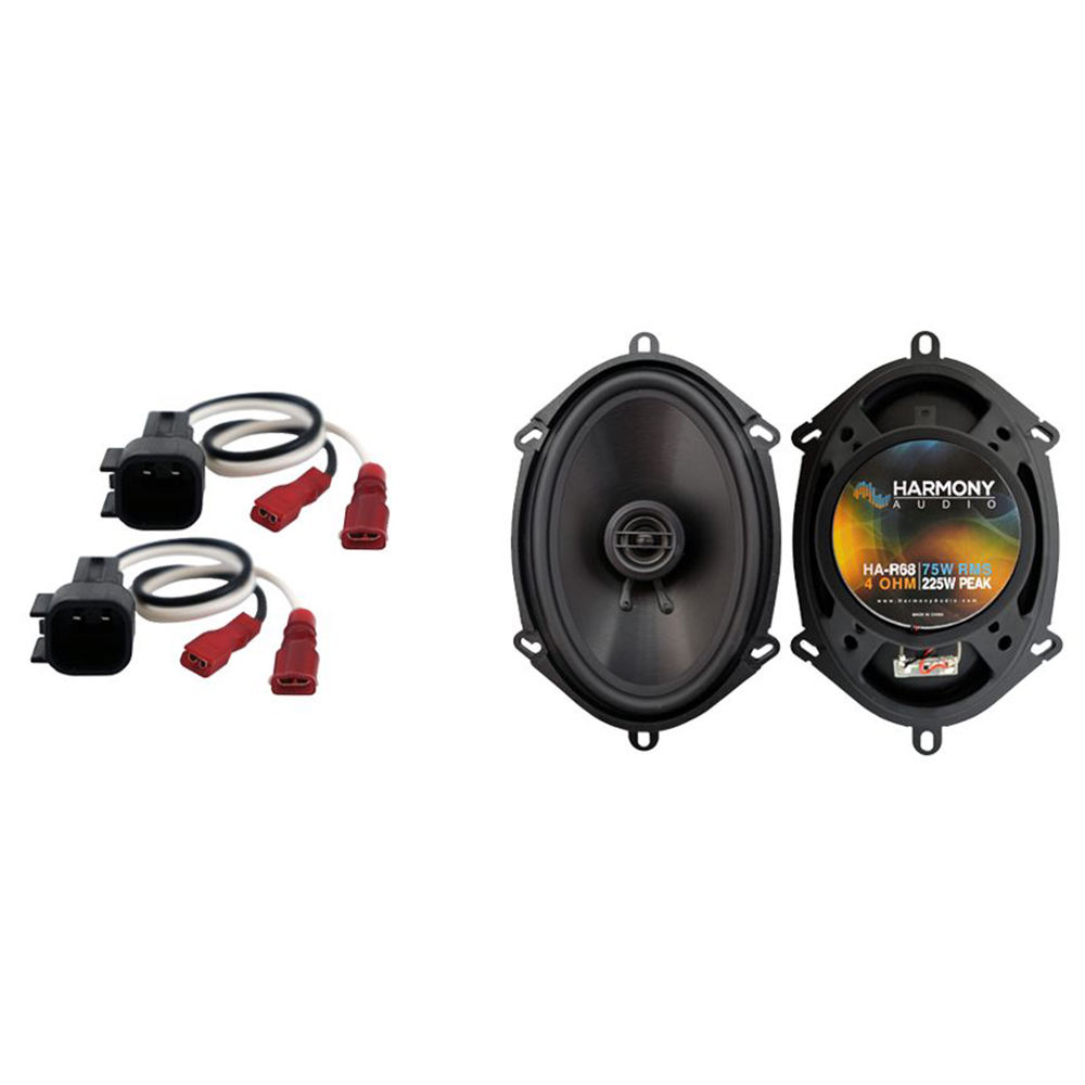 Fits Ford F-350 2017 Rear Door Replacement Speaker Harmony HA-R68 Speakers New
